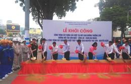 Bí thư Thành ủy TP.HCM phát lệnh khởi công 2 cầu vượt vào sân bay Tân Sơn Nhất