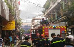 Cháy nhà 3 tầng tại TP.HCM, cụ ông 60 tuổi thoát chết