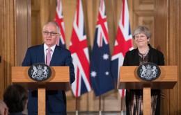 Australia hối thúc thỏa thuận FTA với Anh