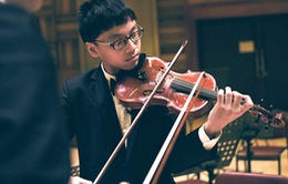 Thần đồng violon trở thành gương mặt trẻ Thủ đô 2016