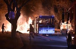 Đánh bom xe ở Thổ Nhĩ Kỳ, 18 người thương vong