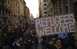 Biểu tình đòi tiếp nhận người tị nạn tại Tây Ban Nha