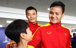 Tuyển thủ Nguyễn Quang Hải và vinh dự được khoác áo ĐTQG