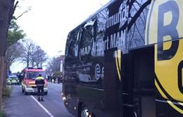 Đức: Xe bus của CLB Dortmund bị tấn công