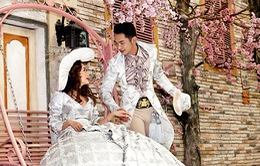 """Ngắm bộ ảnh cưới """"sến sẩm"""" của ca sĩ Mai Quốc Việt"""
