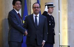 Nhật Bản - Pháp tăng cường hợp tác song phương