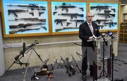 Australia thu hồi hàng chục nghìn khẩu súng bất hợp pháp trong dân