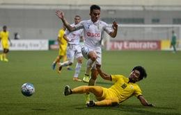 Thắng ngược Tampines Rovers, CLB Hà Nội vươn lên đầu bảng