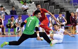 ĐT futsal Việt Nam giành chiến thắng nghẹt thở trước ĐT futsal Trung Quốc