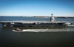 Mỹ đưa vào sử dụng tàu sân bay US Gerald R.Ford