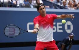Vòng 2 Mỹ mở rộng 2017: Federer đi tiếp sau 5 set căng thẳng