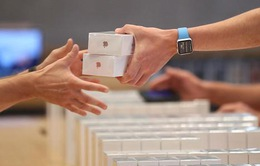 Apple bán được gần 80 triệu chiếc iPhone trong quý I/2017
