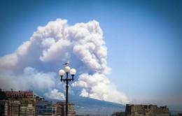 Cháy rừng, người dân Italy tưởng núi lửa thức giấc