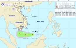 Tin về vùng áp thấp trên Biển Đông