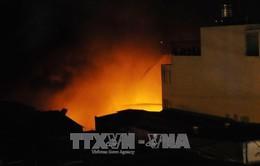 Dập tắt hoàn toàn đám cháy tại Cung quy hoạch Quảng Ninh
