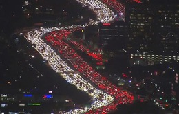 Hình ảnh tắc đường tuyệt đẹp tại Mỹ thu hút hàng triệu lượt xem