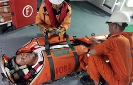 Cứu thuyền viên Trung Quốc gặp nạn trên vùng biển Việt Nam