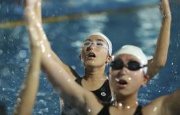 Tập ở hồ bơi công cộng, ĐT Bơi nghệ thuật Việt Nam đặt mục tiêu HCĐ SEA Games 29