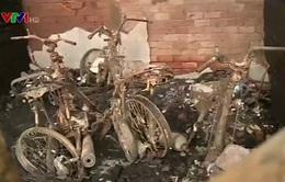 Hiện trường vụ cháy khiến 4 người cùng một nhà thiệt mạng