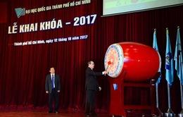 Đại học Quốc gia TP.HCM tổ chức lễ khai khóa 2017