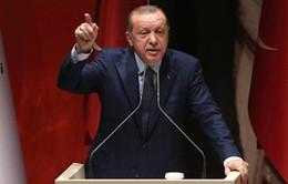 Thổ Nhĩ Kỳ không nhượng bộ trong tranh cãi ngoại giao với Mỹ