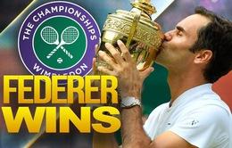 Truyền thông quốc tế & các ngôi sao thể thao chúc mừng chiến thắng của Federer