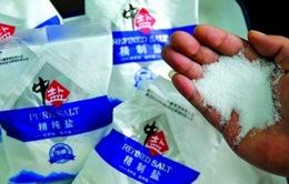 Trung Quốc: Phát hiện hàng nghìn tấn muối bẩn