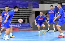 ẢNH: ĐT futsal Việt Nam đã có buổi tập đầu tiên tại Trung Quốc