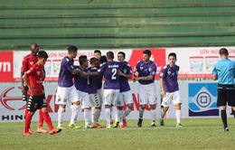 Vòng 20 giải VĐQG V.League 2017: CLB Quảng Nam 1-1 B. Bình Dương, Sông Lam Nghệ An 2-0 CLB Sài Gòn, CLB Hà Nội 4-0 CLB Long An