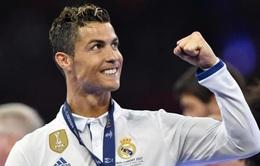 Cris Ronaldo kiếm tiền vô địch làng thể thao 2017