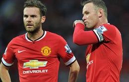 Chung kết EFL Cup: Mata vắng mặt, Rooney sẽ đá chính cho Man Utd?