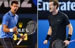 Murray và Djokovic vẫn có thể chiến thắng ở Australian Open 2018