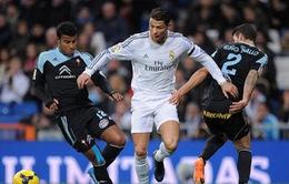 """Celta Vigo quyết """"phá bĩnh"""" Real Madrid trên đường tới ngôi vương La Liga"""