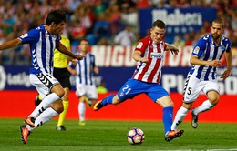 Alaves 0–0 Atletico Madrid: Nguy cơ chia tay top 4