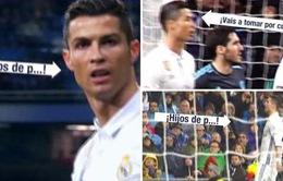 Ronaldo bị tố chửi tục khán giả trên sân Bernabeu