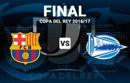 Barcelona - Alaves: Trận chung kết Cúp nhà vua không cân sức