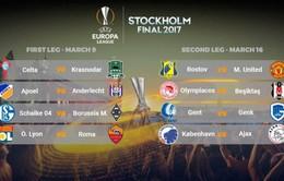 Lịch thi đấu và tường thuật trực tiếp Europa League rạng sáng 10/3
