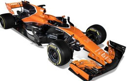Cận cảnh siêu xe F1 màu cam bóng bẩy của đội McLaren ở mùa giải mới