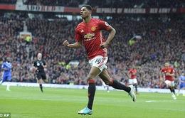 VIDEO Rashford bứt tốc ấn tượng, giúp Man Utd dẫn trước Chelsea