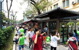 Độc đáo tuyến phố sách đầu tiên ở Thủ đô
