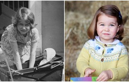 Khám phá thú vị: Công chúa Charlotte là bản sao của Nữ hoàng Elizabeth