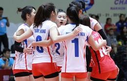 Giải bóng chuyền U23 nữ Châu Á: ĐT U23 Việt Nam vào bán kết với U23 Thái Lan