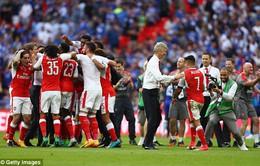 Những hình ảnh đáng nhớ trong ngày đăng quang FA Cup thứ 13 của Arsenal