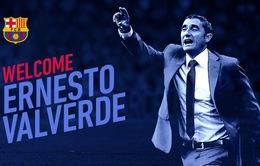 CHÍNH THỨC: Ông Valverde trở thành tân HLV của Barcelona