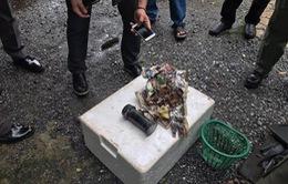 Thái Lan phát hiện lượng lớn vũ khí trong bưu phẩm tại Bangkok