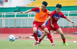 VIDEO: Buổi tập đầu tiên của ĐT Việt Nam chuẩn bị cho trận đấu với ĐT Jordan