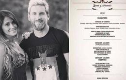 Hé lộ thực đơn toàn cao lương mỹ vị trong tiệc cưới của Messi