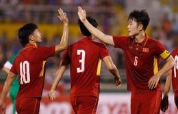 CHÍNH THỨC: Lịch thi đấu giải bóng đá giao hữu quốc tế M150 Cup 2017