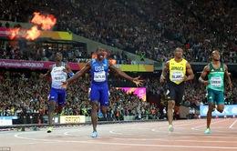 Giải điền kinh VĐTG: Usain Bolt thất bại ở đường chạy 100m sở trường