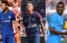 Chuyển nhượng Hè 2017: Ngoại hạng Anh lỗ nửa tỷ, La Liga nhận hơn 650 triệu Euro